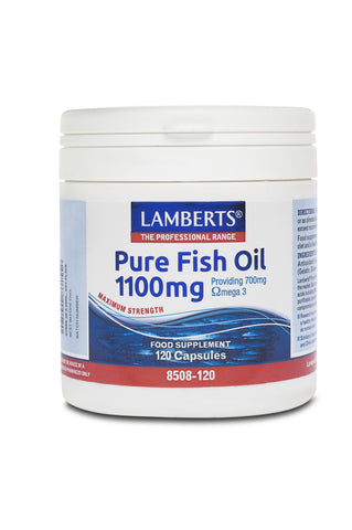 Pure Fish Oil 1100mg (180 capsules)