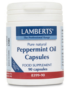 Peppermint Oil Capsules 50mg
