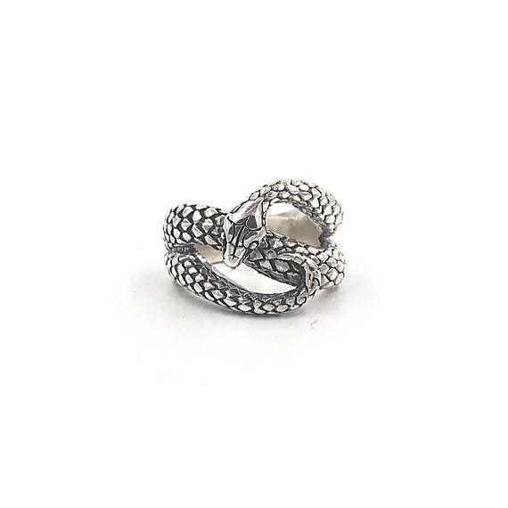 Mercurial Snake Ring - Our Little Secret Shop - Handmade Unique Jewellery