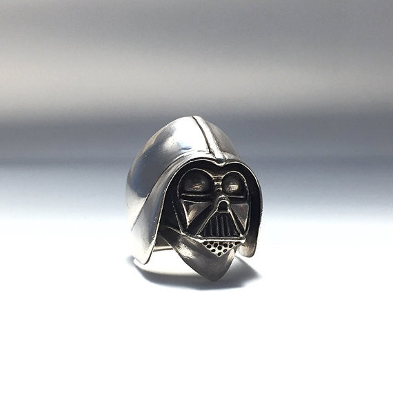 Darth Vader Ring - Our Little Secret Shop - Handmade Unique Jewellery