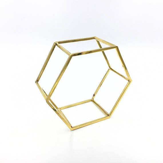 Hexagonal Structure Bracelet - Our Little Secret Shop - Handmade Unique Jewellery