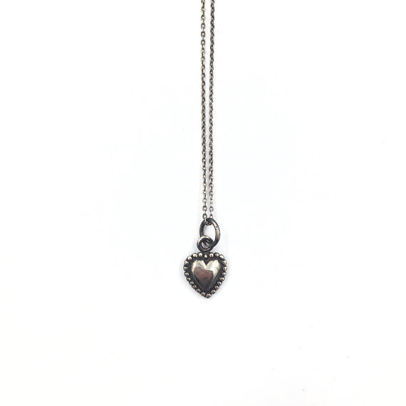 Small Heart Necklace - Our Little Secret Shop - Handmade Unique Jewellery