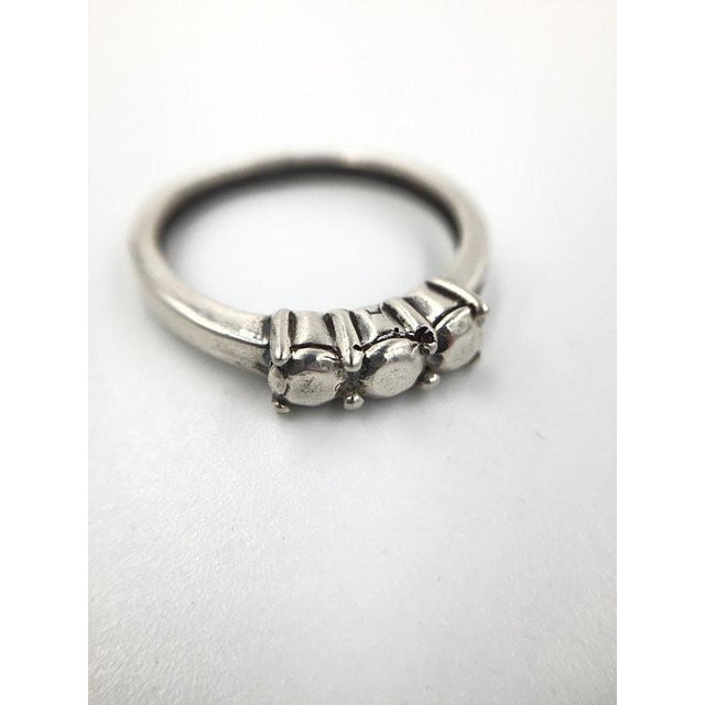 Trilogy Silver Ring - Our Little Secret Shop - Handmade Unique Jewellery