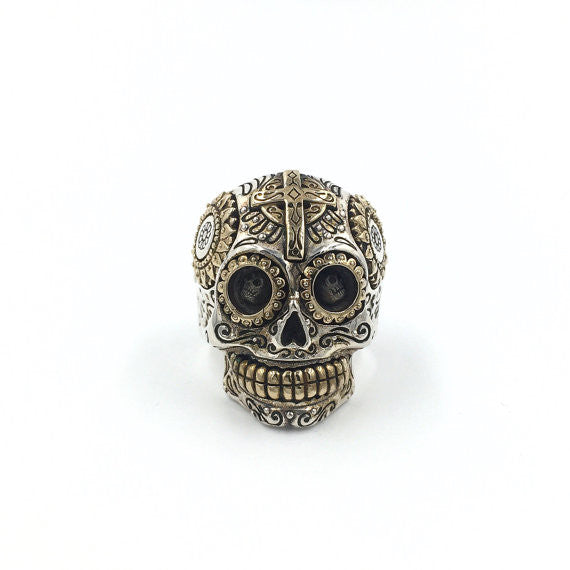 Calaveras Skull Ring - Our Little Secret Shop - Handmade Unique Jewellery