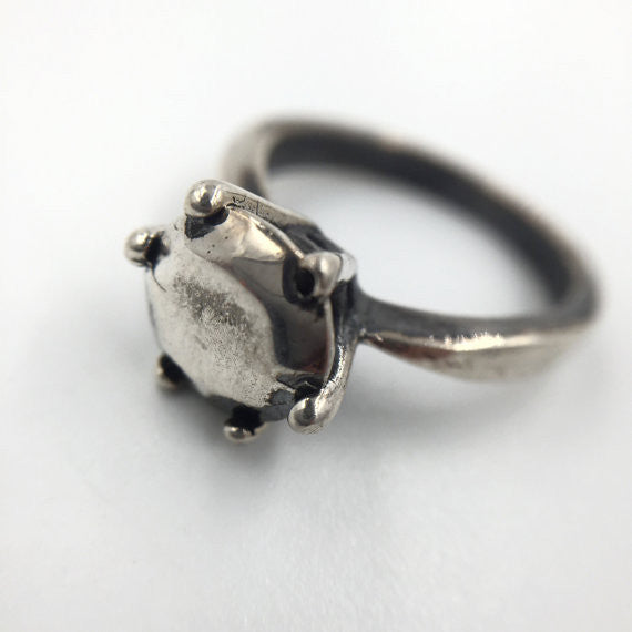 One Silver Ring - Our Little Secret Shop - Handmade Unique Jewellery