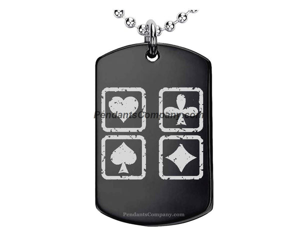 Cards sign Pendant-Necklace
