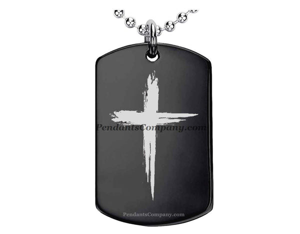 Cross #3 Pendant-Necklace