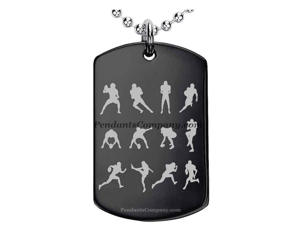 Football #13 Pendant-Necklace