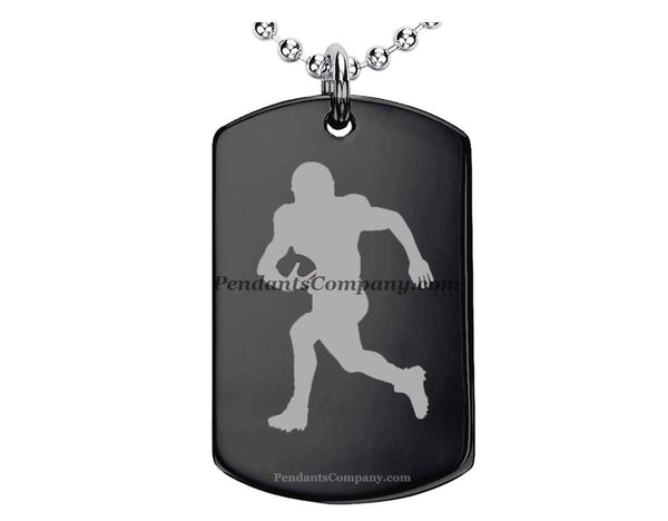 Football #2 Pendant-Necklace