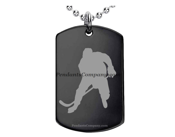 Hockey #1 Pendant-Necklace
