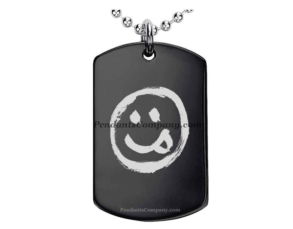 Smiley #1 Pendant-Necklace