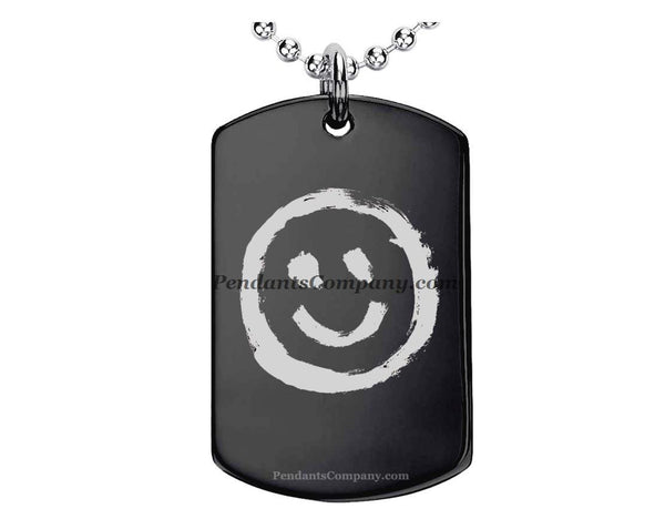 Smiley #2 Pendant-Necklace
