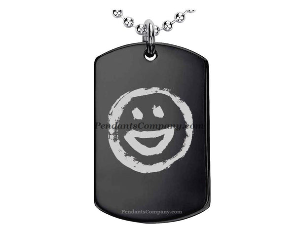 Smiley #3 Pendant-Necklace