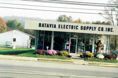 Batavia Electric Old Building Front