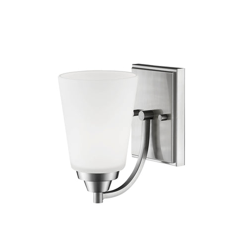 Millennium 1-Light Satin Nickel Sconce - Batavia Electric Supply