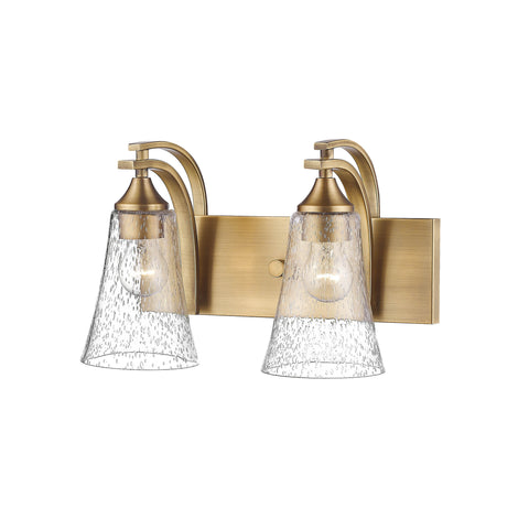 Millennium Heirloom Bronze 2-Light Vanity Light - Batavia Electric Supply