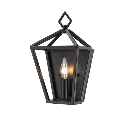 Millennium 1-Light Matte Black Sconce - Batavia Electric Supply