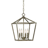 Millennium Matte Black 4-Light Pendant - Batavia Electric Supply