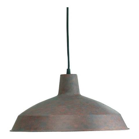 "6822-33  Create a unique look for your home with this 1-Light Cobblestone Pendant from Quorum!  Cobblestone Width: 16"" Height: 8"" Lamping: (1) 150W Max. Supplied with 10' cord Bulb not included Display model"