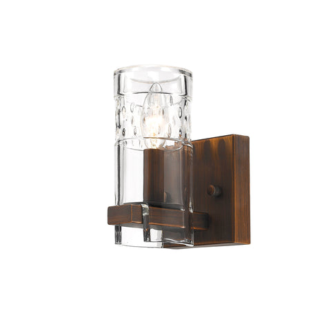 Millennium 1-Light Rubbed Bronze Sconce - Batavia Electric Supply