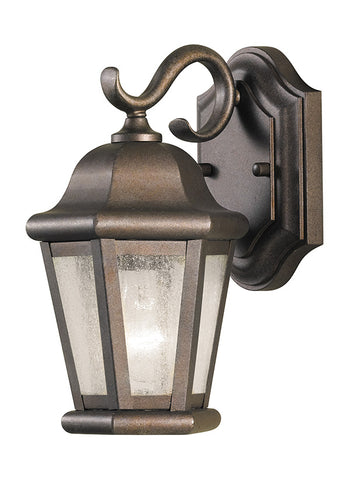 Feiss 1-Light Outdoor Wall Lantern in Corinthian Bronze - Batavia Electric Supply