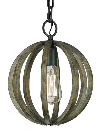 Feiss 1-Light Cage Mini Pendant - Batavia Electric Supply