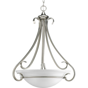 Progress Lighting 3-Light Brushed Nickel Foyer Pendant - Batavia Electric Supply