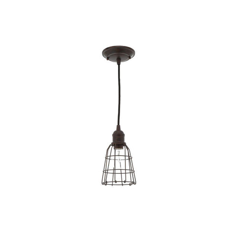 Feiss Parisian Bronze Mini Pendant - Batavia Electric Supply