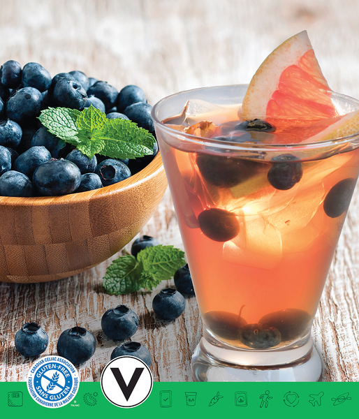 MSPrebiotic® Blueberry Black Tea Refresher