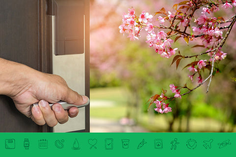 How can Spring's energy help you open the door to wellness?