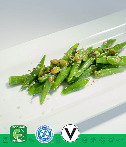 MSPrebiotic® (FODMAP Friendly) Green Bean Salad with Dijon Mustard Vinaigrette