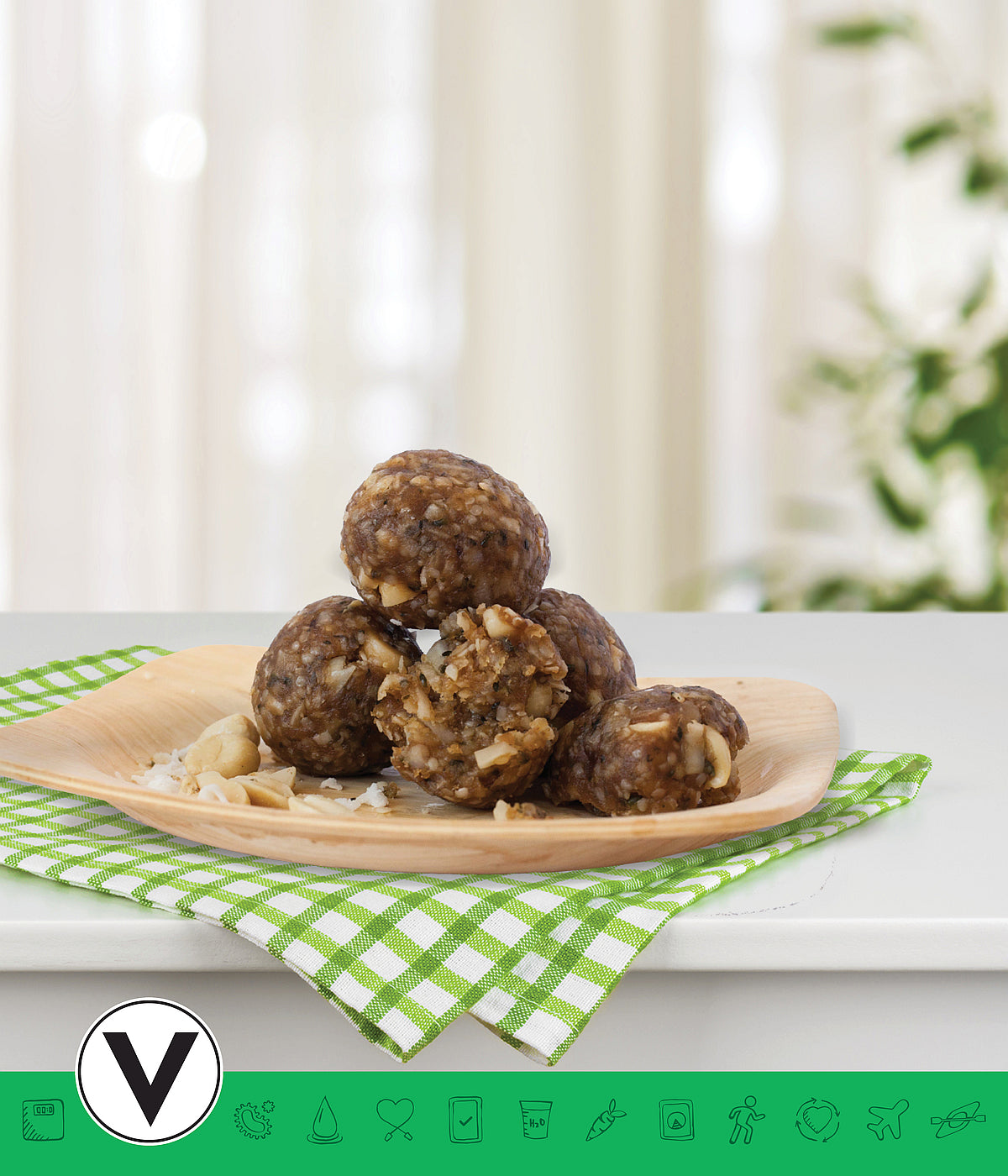 MSPrebiotic® Peanut Butter Coconut Energy Ball
