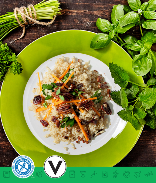 MSPrebiotic® Quinoa Salad with Pecan Vinaigrette