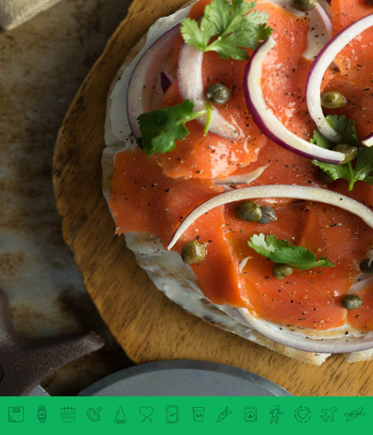 MSPrebiotic® Smoked Salmon Pita