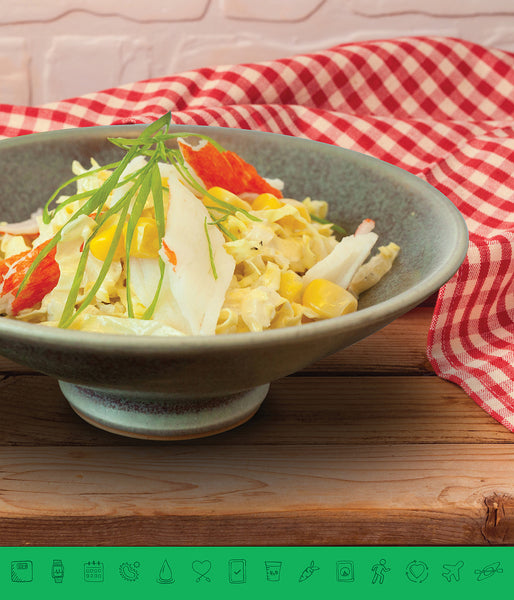 MSPrebiotic® Surimi Napa Cabbage and Corn Salad