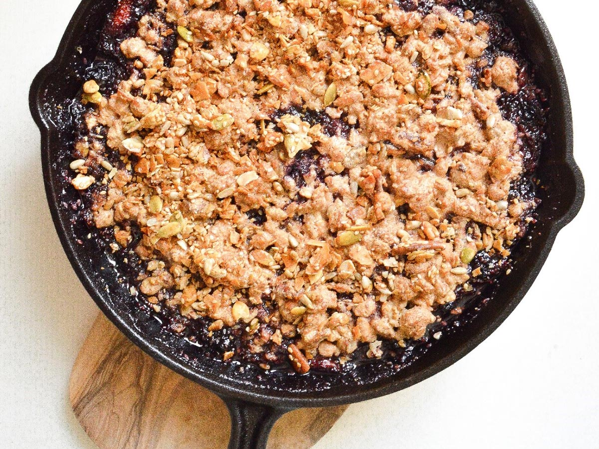 GrandyOats Mixed Berry Skillet