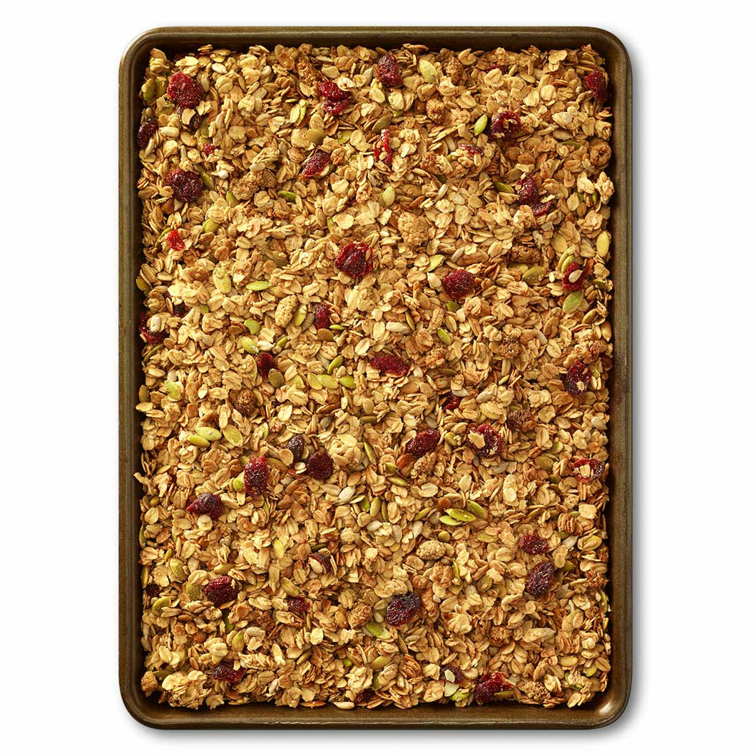 Maple Mulberry Crunch