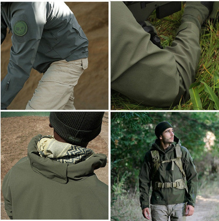 Mens Outdoor Cold Weather Jacket