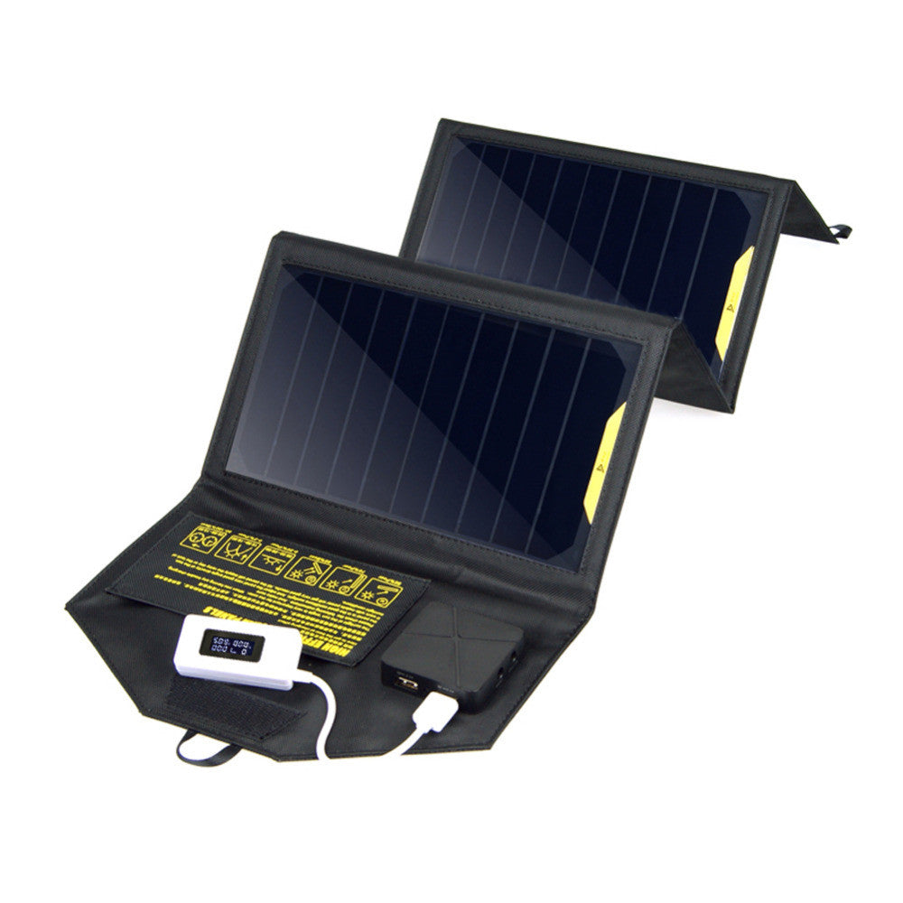 4 Panel 20W 5V Portable Foldable Solar Charger