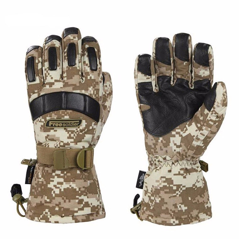 Men's Waterproof Sheep Leather Gloves