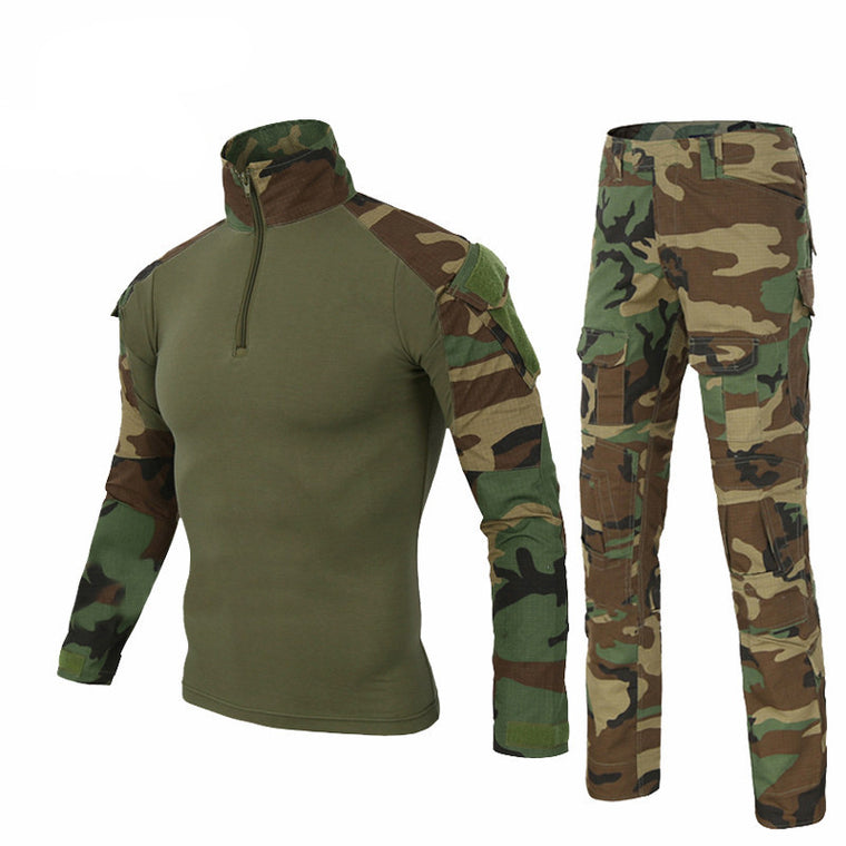 Camouflage Clothing Set