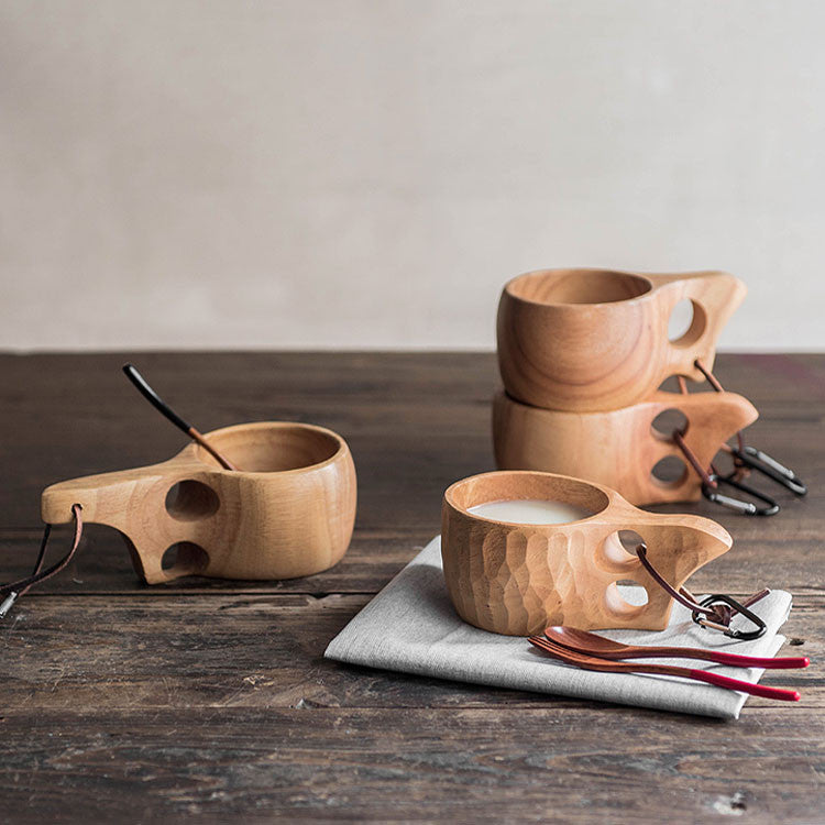 Creative Natural Kuksa Wooden Mug