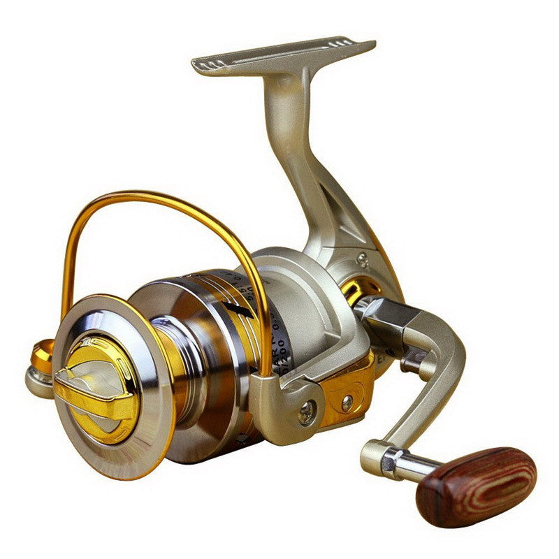 EA14 5.5:1 Ratio Aluminum Spool Spinning Reel EF1000 - 7000 Series Folding Arm