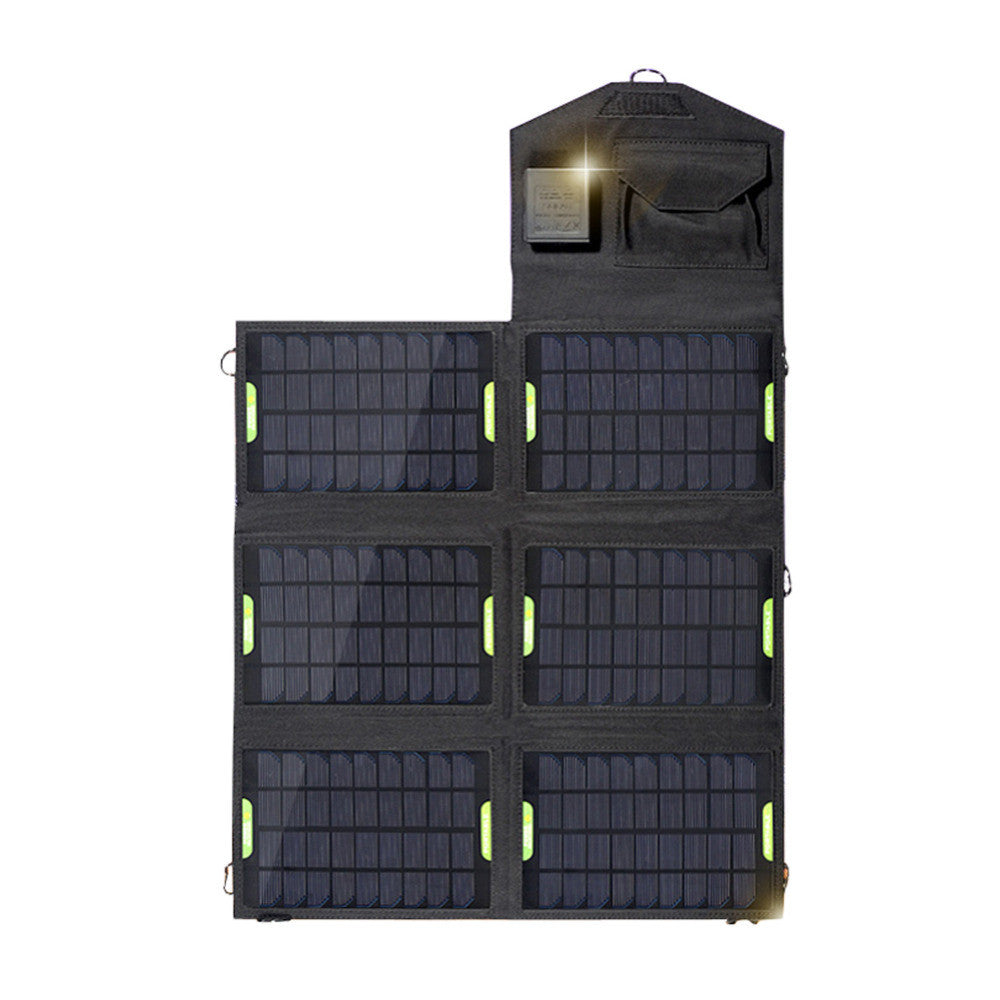 High Quality 21W 18V Portable Folding Solar Charger with Dual USB output