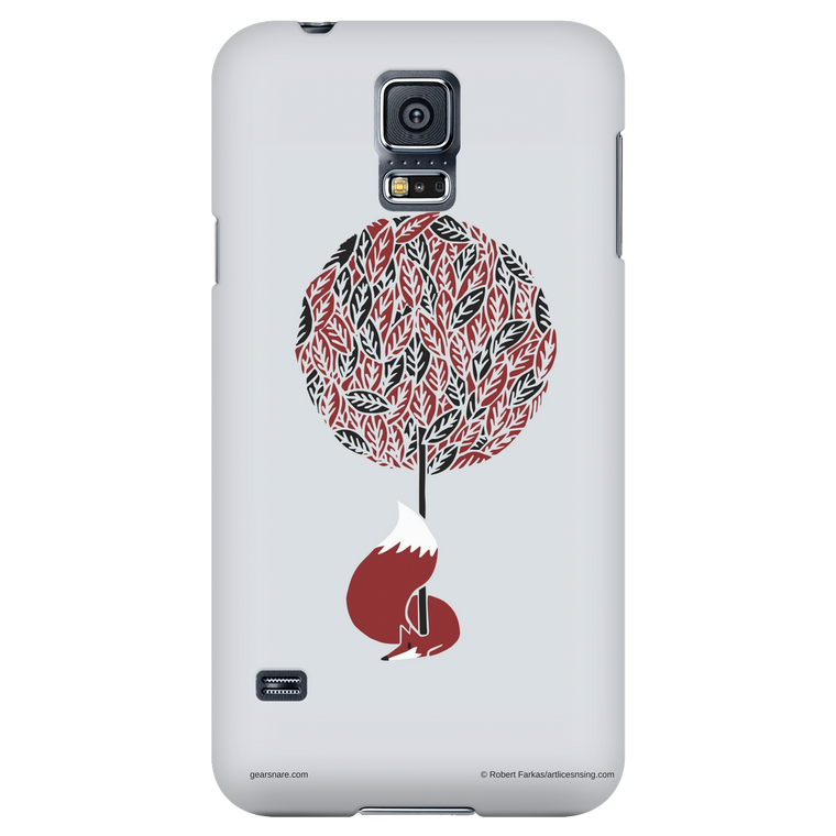 Tree Fox Phone Case