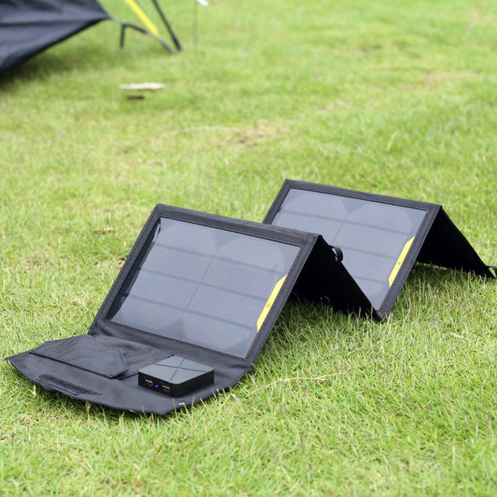 4 Panel 5V 15W Portable Folding Solar Charger