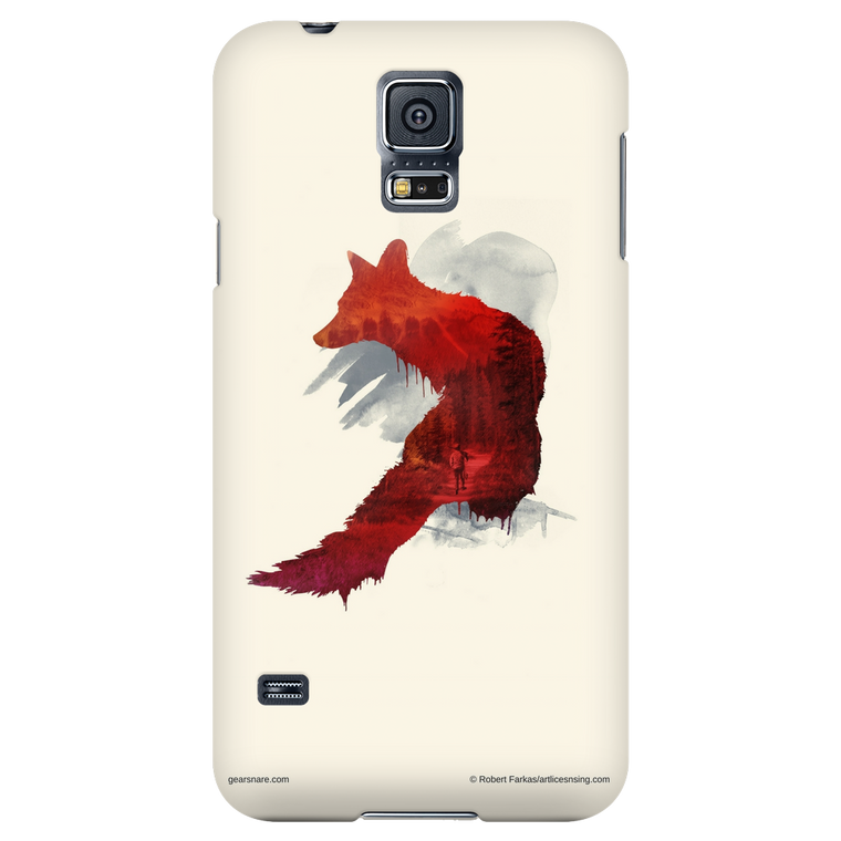 Red Fox Phone Case