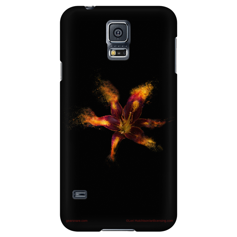 Red Lily Flower iPhone and Galaxy Case
