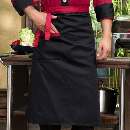 Chef Waist Aprons With Pocket -- Several Colors
