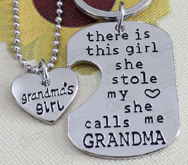 Parents and Grandparents Love Necklaces and Key chain -- Special Offer